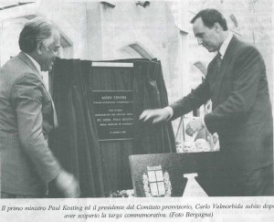 Paul Keating & Carlo Valmorbida